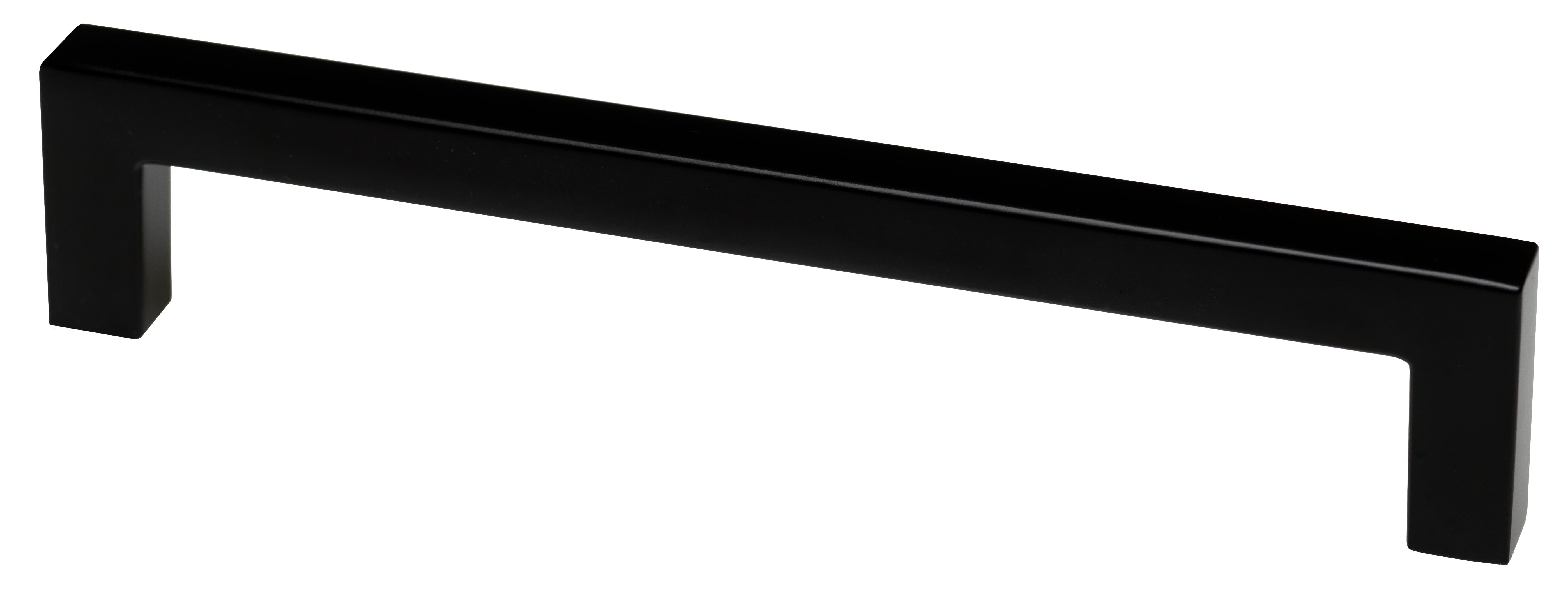 Lifetime Metallgriff - Schwarz für Türen- und Schubladensets
