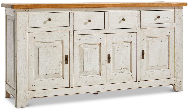 Sideboard Calverton - BHT ca. 190x96x49 cm weiß