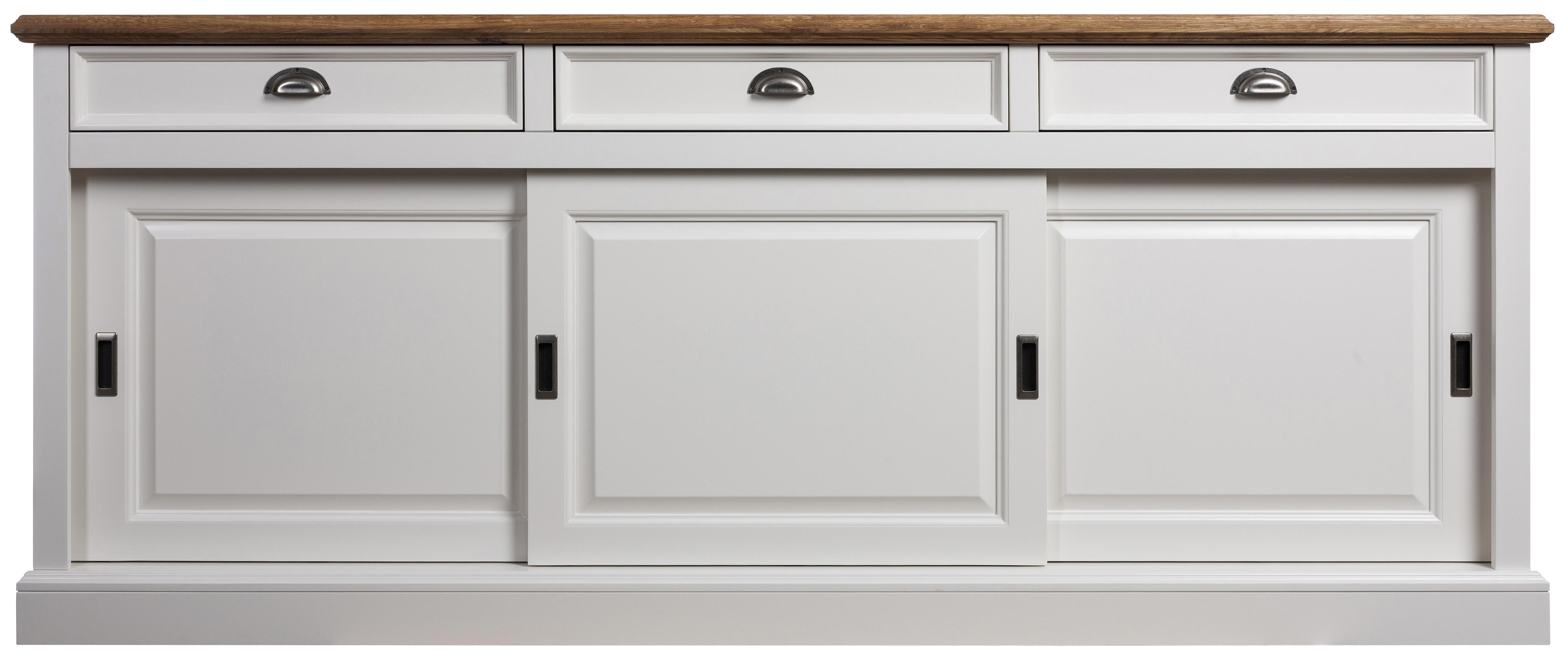 Modesto Sideboard weiß aus Birke/MDF