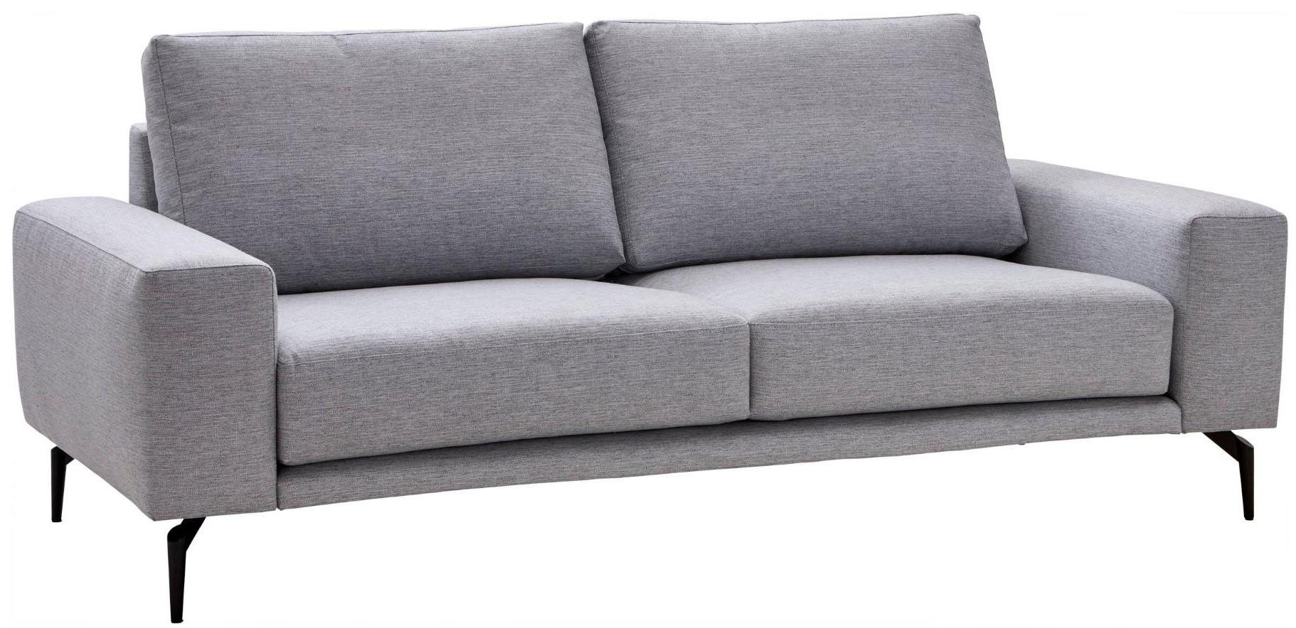 2,5-Sitzer-Sofa Natura Redington in hellgrauem Stoff
