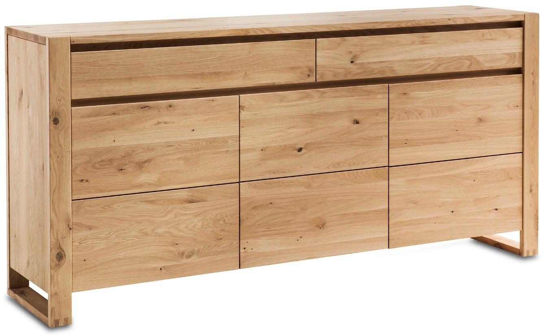 Sideboard Lancaster Wildeiche massiv - legno geölt