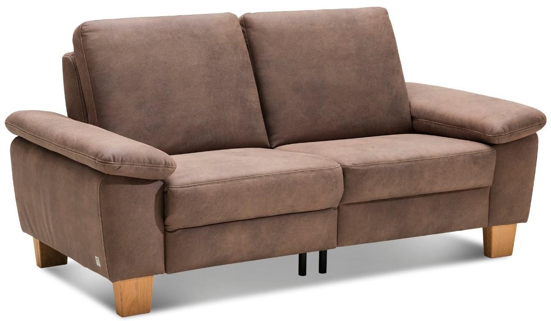 Sofa Stonington Country - 2-Sitzer, Stoff  braun