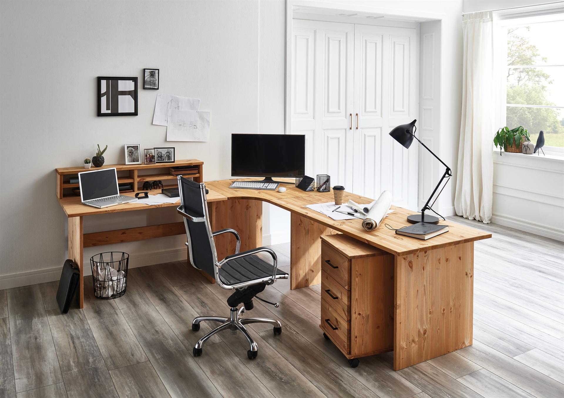 """Schreibtisch """"Sundby"""" aus Massivholz"""