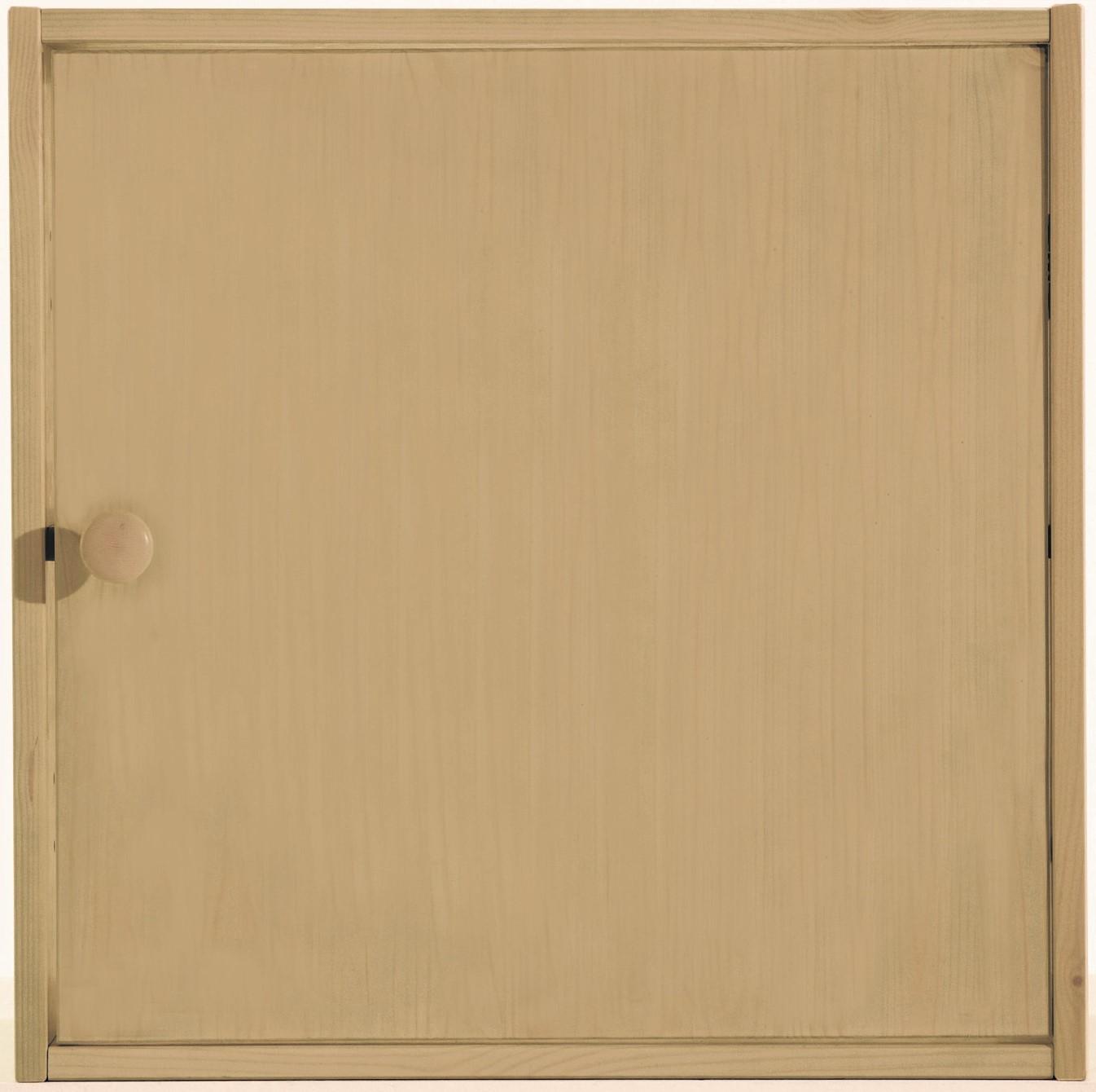 Tür groß Kiefer massiv 46,4 x 46,4 x 1,6 cm