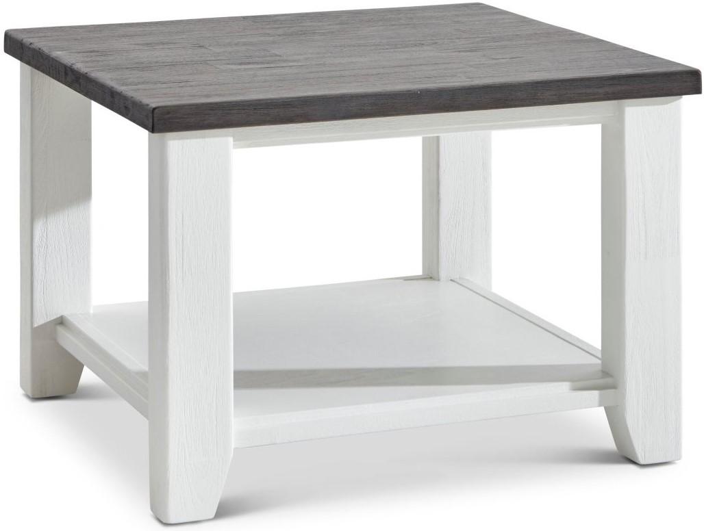Beistelltisch Wellington - LBH ca. 65x65x45 cm weiß
