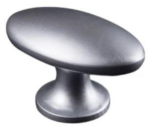 Lifetime Metallgriff Zink oval für Türen- und Schubladensets