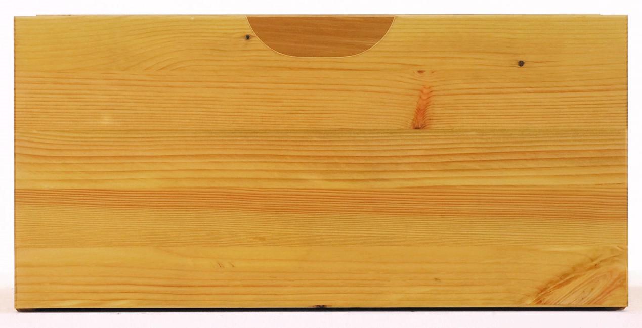 Schublade groß Kiefer massiv 46 x 22 x 35 cm