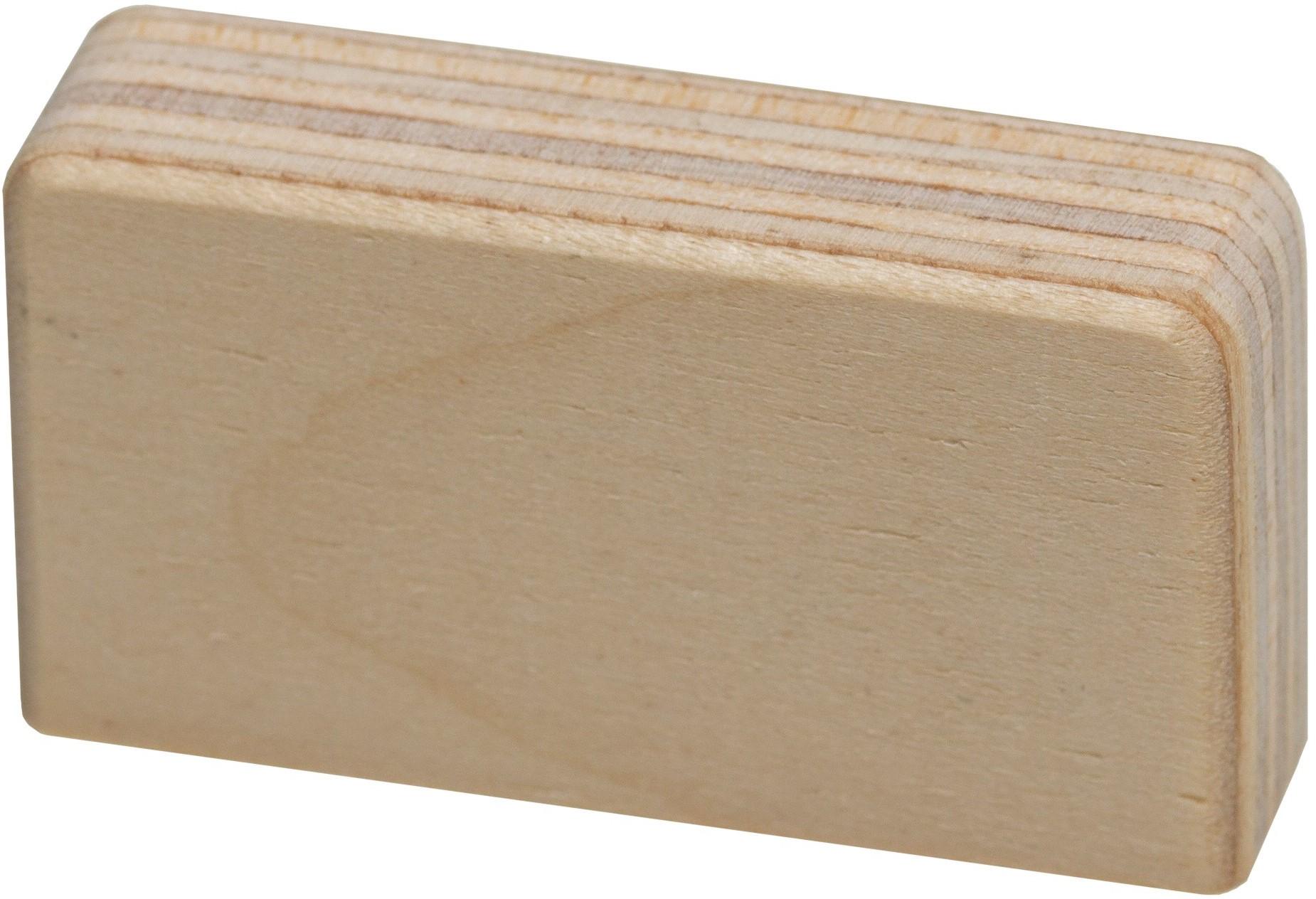 """Lifetime Holzgriff """"Square"""" für Türen- und Schubladensets"""