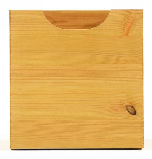 Schublade klein Kiefer massiv 22 x 22 x 35 cm